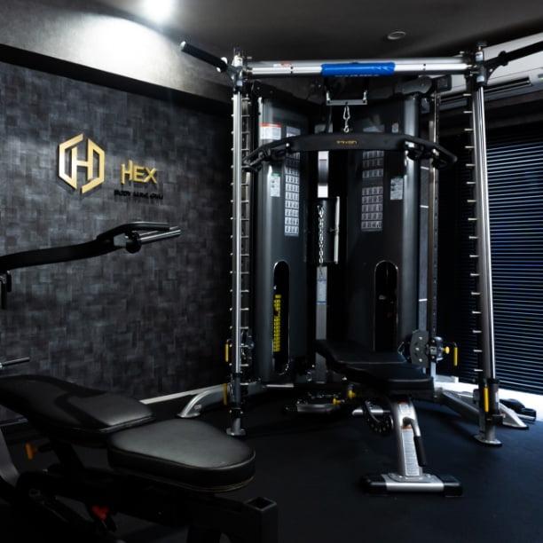 Training Room(トレーニングルーム)|Body make gym HEX(へクス)の施設・設備