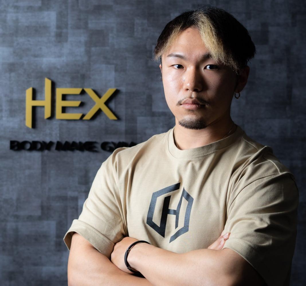 Yasunori Matsumoto (松本 恭典)|Body make gym HEX(へクス)のトレーナー